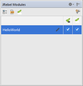 IntelliJ IDEA — JRebel 2019 x documentation
