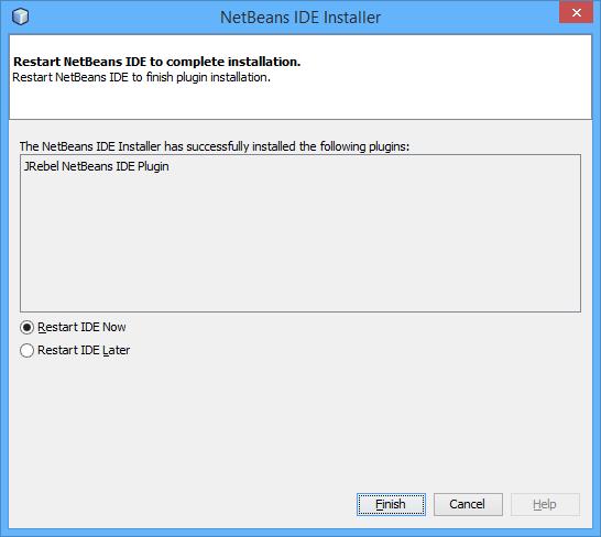 NetBeans — JRebel 2019 x documentation