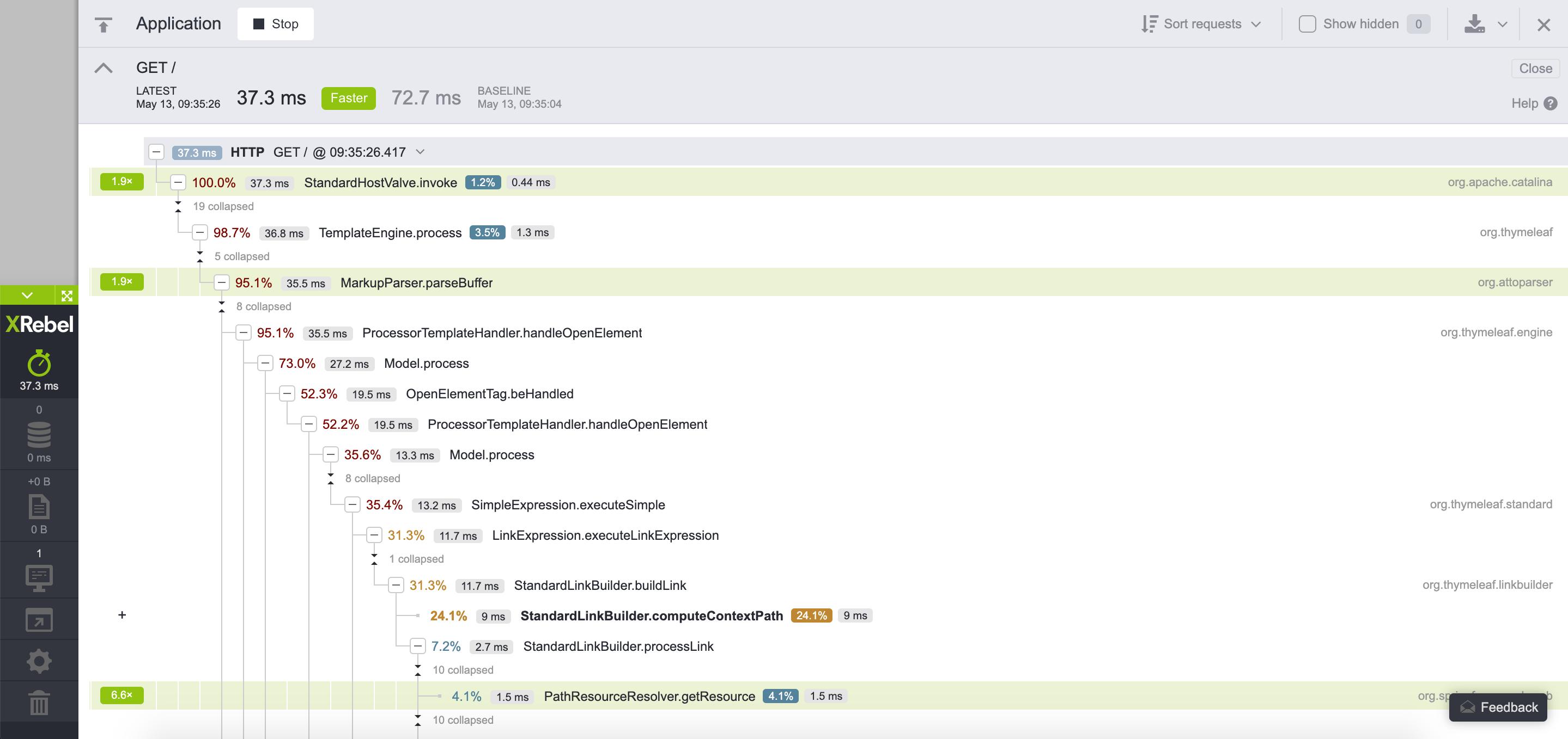 Using XRebel — XRebel documentation